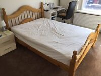 Double Bed & Mattress £150
