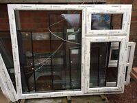 Brand-new PVC window