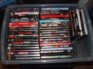 Lot of 50 DVD movies for $50.
