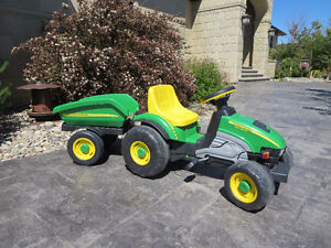 **SOLD**John Deere Kid's Tractor and Dora Little Tikes Toy Car