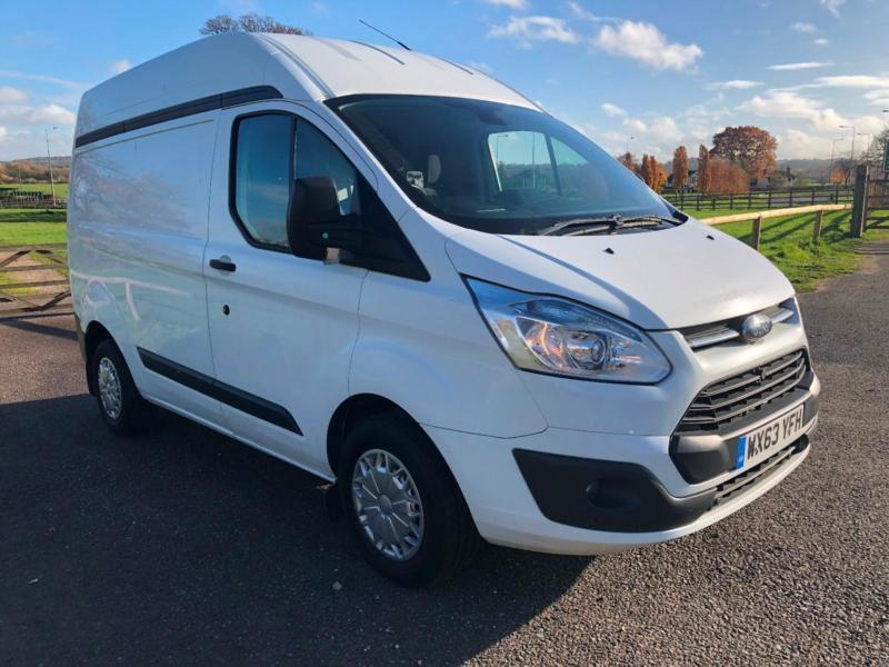 19caf5487f 2014 FORD TRANSIT CUSTOM TREND 310 L1 H2 VAN HIGH ROOF ONE OWNER AIR CON