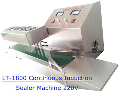 220V LT-1800 Electromagnetic Stainless Steel Continuous Induction Seale Machine