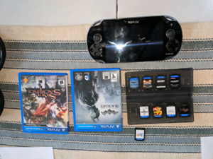Ps vita 32gb with 10 games