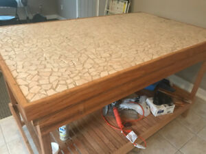 Strong Wooden table in excellent condition!!