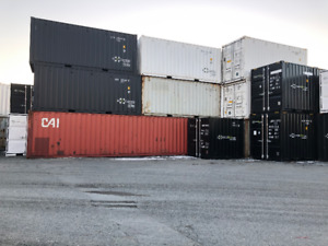 USED SHIPPING CONTAINER STORAGE SEA CANS