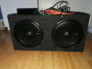 Subs amplifier and box line out converter