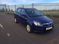 57 2007 VAUXHALL ZAFIRA 1.6 MOT JAN 2017 SUPERB CONDITION