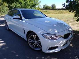 2014 BMW 4 Series 420i xDrive M Sport 2dr Auto 19in Alloys! Low Miles! DAB! ...