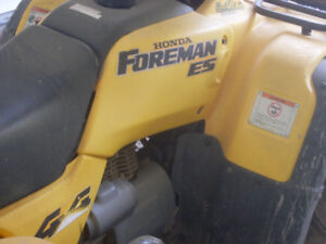 Trying to Locate Stolen Atv- 1999 Honda Foremman 450ES