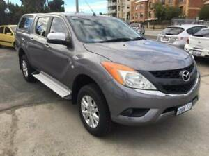 2012 Mazda BT-50 XTR 4x4 Auto Diesel Dual Cab + 3 YEAR WARRANTY Beaconsfield Fremantle Area Preview