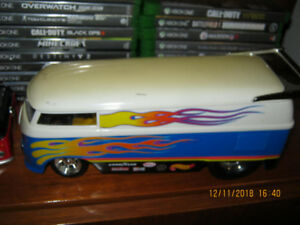 vw bus dragster die cast