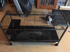 Two rabbit cages for sale