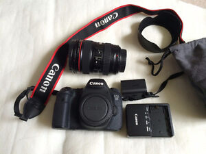 Canon EOS 6D DSLR Camera, lens, Acc. Kit & 2 Year Extended Warr.