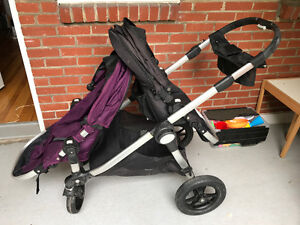 Stroller pousette Doubl CitySelect: Baby Jog Doubl w bassonnette