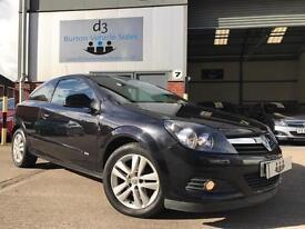 2008/58 Vauxhall Astra 1.6 16v 115ps Sport Hatch SXi 3 Door Coupe Metallic Black