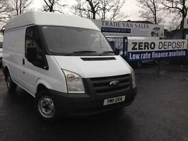 Ford Transit 2.2 TDCI Short wheel base medium roof