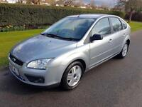FORD FOCUS 1.6 (115bhp) GHIA - 5 DOOR - SLIVER ** NEW SHAPE **