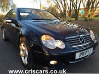 Mercedes-Benz C Class 2.1 C200 CDI SE DIESEL, MANUAL,2dr£3,000 3 owners,hpi clear,private plate