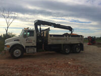 Self Loading Dump Truck Service & Clean Fill Disposal