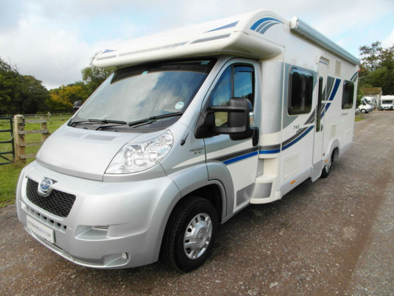 Unique Bailey Approach 745SE - 2013 - Fixed Rear Bed - Hab Aircon | In Reading Berkshire | Gumtree