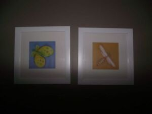 2 FRAMED PICTURES--PERFECT CONDITION!