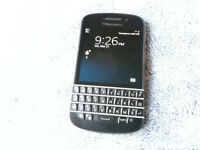 Dell BlackBerry Q10. No scratches. Great condition