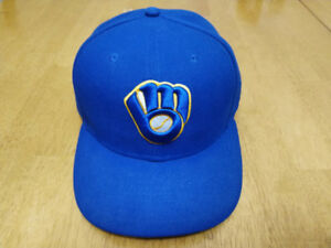 New Era 59Fifty Milwaukee Brewers Baseball Hat - Size 7 3/8""