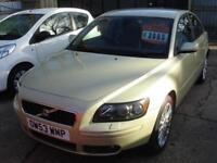 VOLVO S40 T5 SE 2004 Petrol Automatic in Green