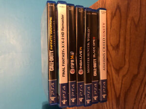 Selling ps4 games talking offers