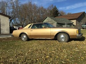 1977 Buick Regal Restoration Project - Priced to sell