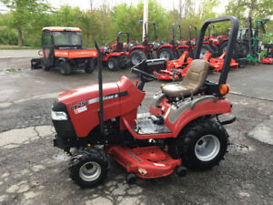 "Case DX25E Tractor with 54"" Mid Mower and 50"" Front Blower"
