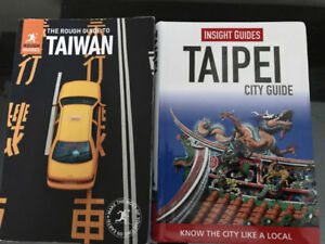Travel books – Taiwan and Taipei