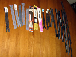 Sewing Enthusiast? Tons of Zippers--all colors, sizes. Offers???