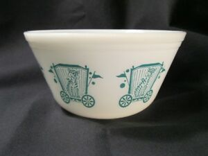 Vintage Federal Glass Circus Bowl