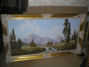 FIRST $250.00 TAKES IT ~ Original Peter Haller Oil Painting ~