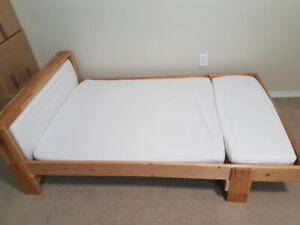 Expandable bed