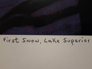"""Limited Edition """"First Snow Lake Superior"""" by Lawren Harris London Ontario image 3"""