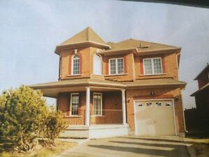 House for rent in maple  Vaughan Dec. 01