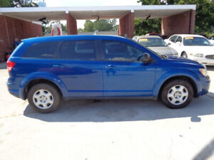 2009 DODGE JOURNEY SE-DVD-HDTV-B/CAMERA-7 PASENGERS-126K