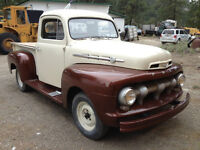 1952 Ford F1 Partly Restored