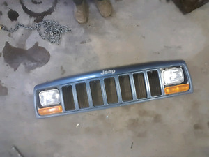 Jeep Cherokee front clip