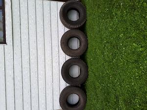 "33""×10.50""×15"" BFGoodrich All Terrain Tires x4"