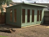 16ft x 8ft summerhouse/ shed/ office
