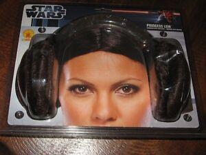 Costume - Princess Leia Bun headband - never used in pkg