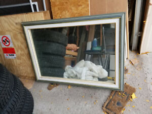 Large Wall Mirror in Frame