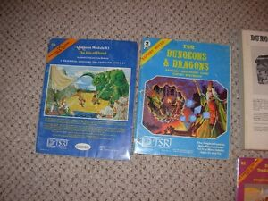 Dungeons and Dragons Basic & Expert Set Sarnia Sarnia Area image 4