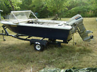 OUTBOARD, OMC: 50 HP repairable,40 HP parting.UPDATE,july 2014