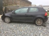 Vw Golf Mk5's Breaking for parts