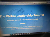 Global Leadership Sumit: Save $64  Benefit from my date conflict