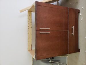 Vanity Cabinet and sink
